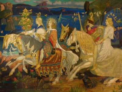Duncan, John, 1866-1945; The Riders of the Sidhe